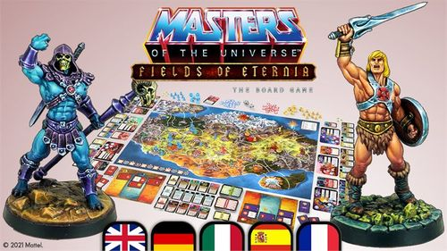 Board Game: Masters of The Universe: Fields of Eternia The Board Game