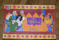 Board Game: The Hunchback of Notre Dame: Town Square Game