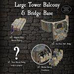 RPG Item: Large Tower Balcony & Bridge Base Pack
