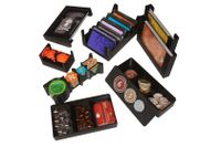 Board Game Accessory: 7 Wonders Duel + Pantheon + Agora: Eurohell Design Insert
