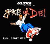 Video Game: Skate or Die