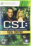 Video Game: CSI: Fatal Conspiracy
