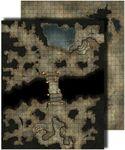 RPG Item: GameMastery Flip-Mat: Darklands
