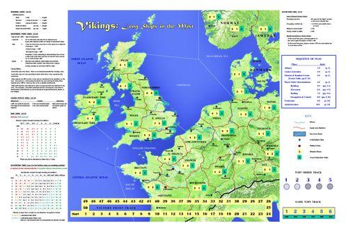 Board Game: Vikings: Long Ships in the Mist