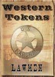 RPG Item: Western Tokens: Lawmen