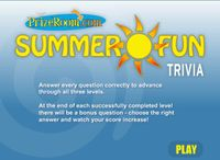 Video Game: Summer Fun Trivia
