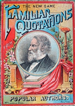 Board Game: New Game of Familiar Quotations from Popular Authors