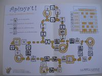 Board Game: Apinya't: El Joc dels Castellers de Badalona