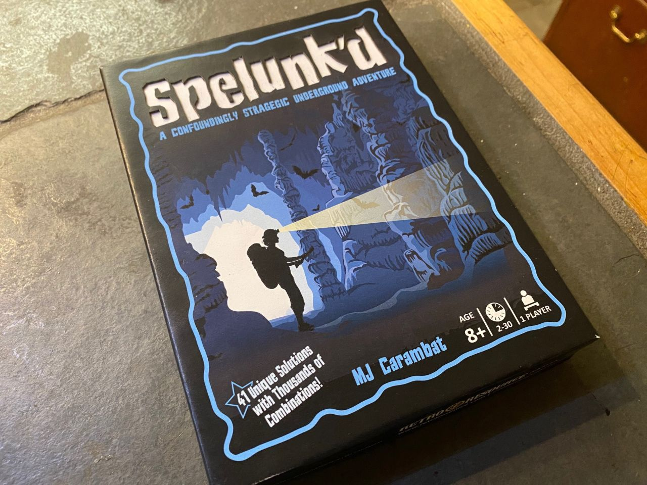 Spelunk'd: A Confoundedly Strategic Underground Adventure