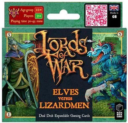 Elves vs Lizardmen Lords of War