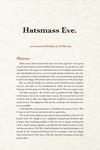 RPG Item: Hatsmass Eve
