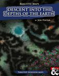 RPG Item: Realistic Maps: Descent Into the Depths of the Earth