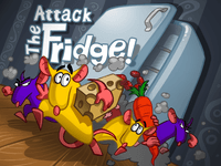 Video Game: Attack the Fridge!