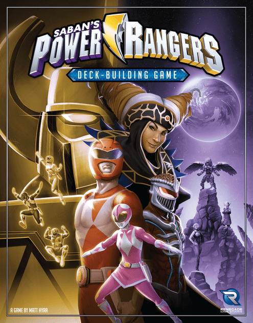 Image result for power rangers deck building game