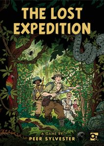 The Lost Expedition Cover Artwork