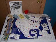 Board Game: North American Rails