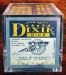 "Officially licensed ""Dixie"" Dice by Chessex - 12 D6 per set (6 blue dice with yellow pips, 6 grey dice with black pips)"