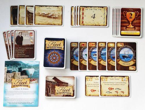 Board Game: Fleet Wharfside