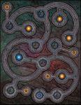 RPG Item: VTT Map Set 250: Ancient Alien Intergalactic Node