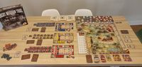 Board Game: Great Western Trail: Rails to the North