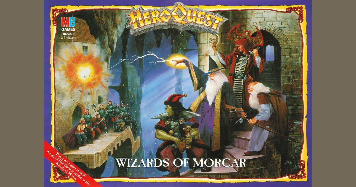 Details about  /Games Workshop Advanced Heroquest Wizards of Morcar Henchmen Sprue Dark Company