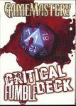 RPG Item: GameMastery Cards: Critical Fumble Deck