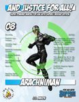 RPG Item: And Justice for All! 08: Arachniman