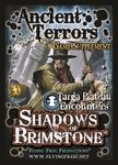 Board Game: Shadows of Brimstone: Ancient Terrors Game Supplement