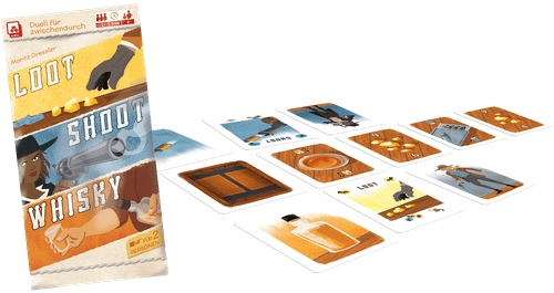 Board Game: Loot, Shoot, Whisky