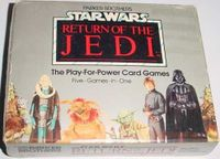 Board Game: Star Wars: Return of the Jedi – The Play-for-Power Card Games