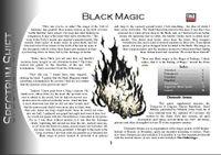 RPG Item: Colours of Magic: Black Magic (D20)