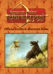 RPG Item: Against the Dark Yogi: Official Errata & Alternate Rules