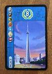 Board Game Accessory: 7 Wonders: Palace Alternate Art Promo Card