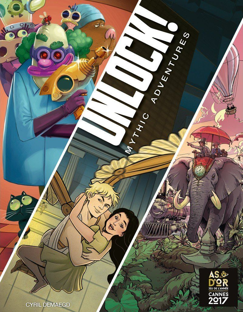 Unlock!: Mythic Adventures