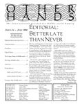 Issue: Other Hands (Issue 14 - July 1996)