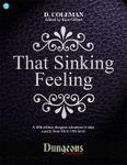 RPG Item: Dungeons On Demand V2L9: That Sinking Feeling