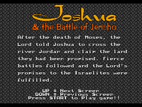 Video Game: Joshua & the Battle of Jericho
