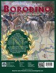 Borodino - current back cover