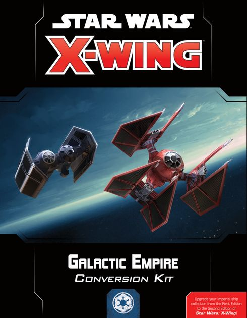Star Wars X-Wing Second Edition Empire Pilot Cards