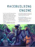 Issue: EONS #70 - Racebuilding Engine