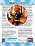 RPG Item: Template: Atomic Hero