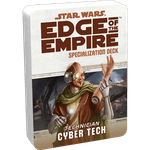 RPG Item: Edge of the Empire Specialization Deck: Technician Cyber Tech