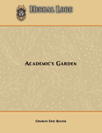 RPG Item: Herbal Lore: Academic's Garden (System Neutral)