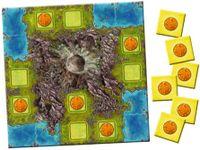 Board Game: Amerigo Queenie 1: Volcanic Island
