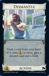 Board Game: Dominion: Dismantle Promo Card