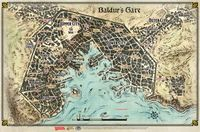 RPG Item: Baldur's Gate: Descent Into Avernus – Baldur's Gate Map