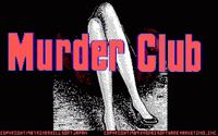 Video Game: Murder Club