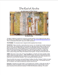 RPG Item: The Rod of Anubis