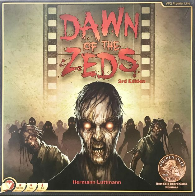 Brand New 3rd Edition Expansion Pack 2: New Player Blues Dawn of the Zeds