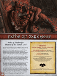 RPG Item: Paths of Darkness